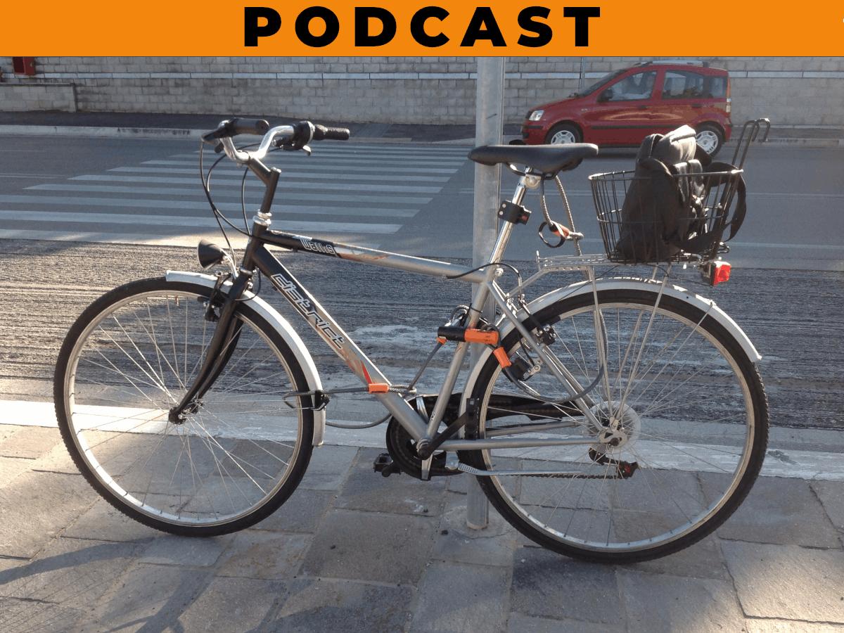 bici legata bene